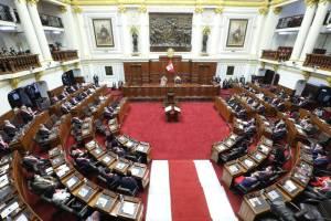 Pleno del Congreso aprueba dictamen que interpreta cuestión de confianza