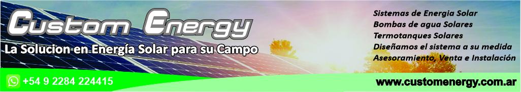 Custom Energy desktop