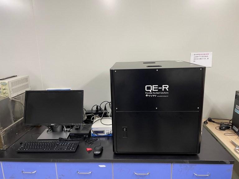 Quantum Efficiency 量子效率 PV Solar Cell 太陽能電池 QE-R_15