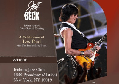 Jeff Beck- Walking in the Sand