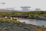 Puente Ruca Nuco, cerca de la junta con el Bío Bío
