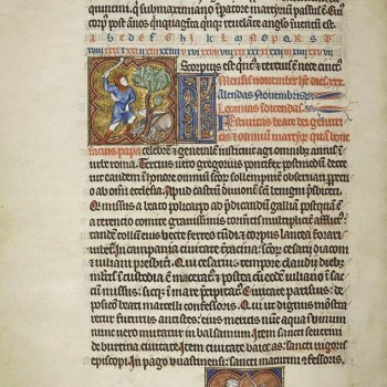 Martyrologe de Saint Germain des Prés. Folio 140