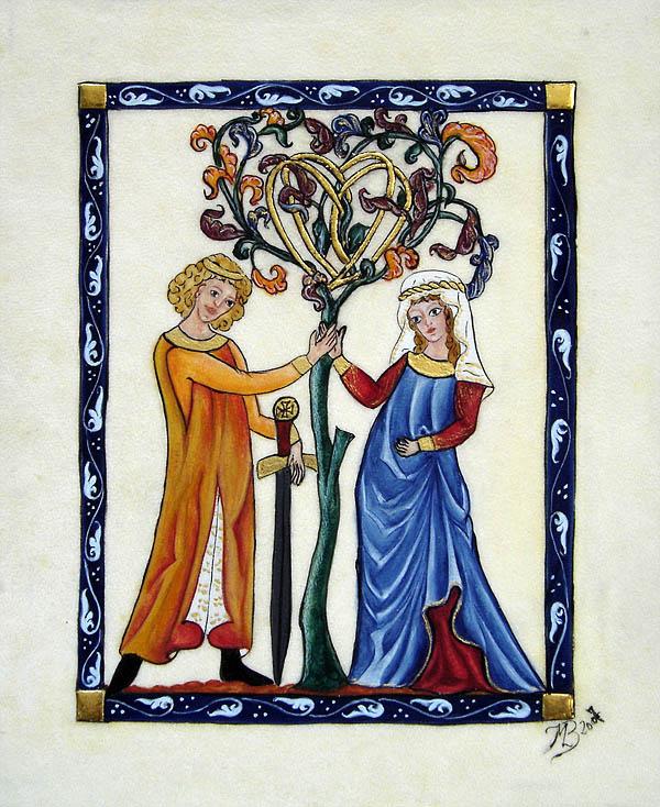 Codex Manesse – L'arbre de vie
