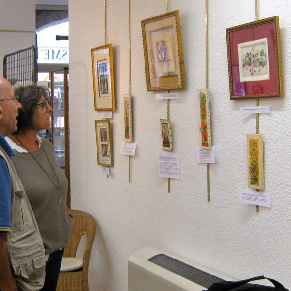 Exposition calligraphie & enluminure