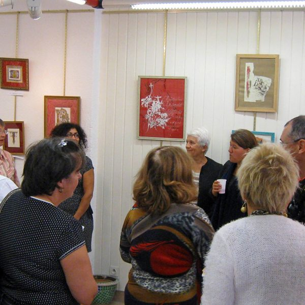Exposition calligraphie & enluminure (vernissage)