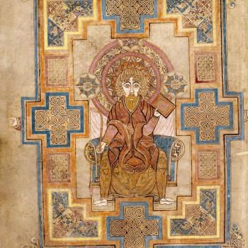 Portrait de Saint-Jean (folio 291v du livre de Kells)
