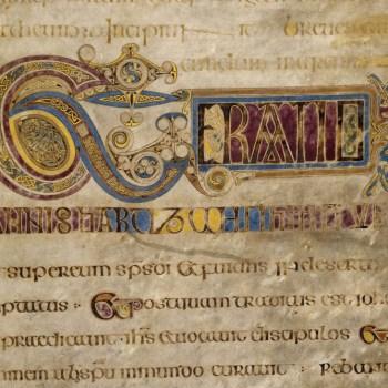 Livre de Kells - détail du folio 13r