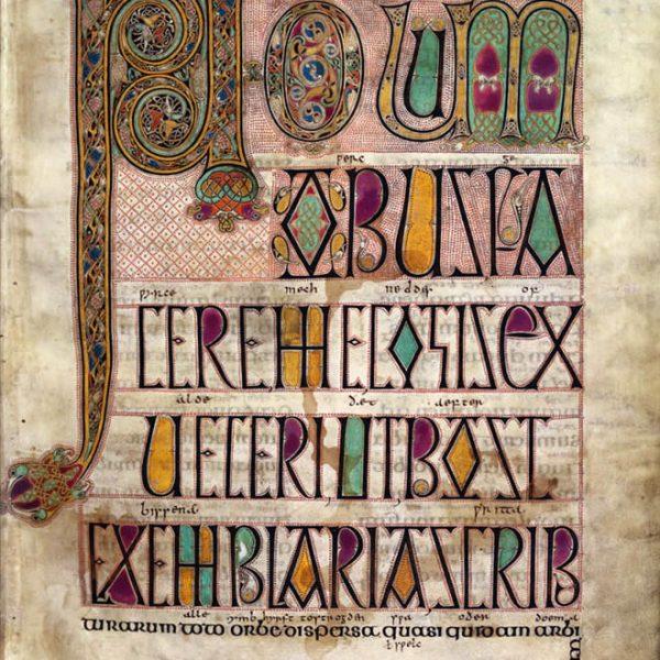 Lindisfarne Folio 3 - Saint Jérome - Novum