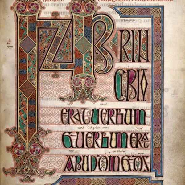Lindisfarne Folio 211 - Saint Jean