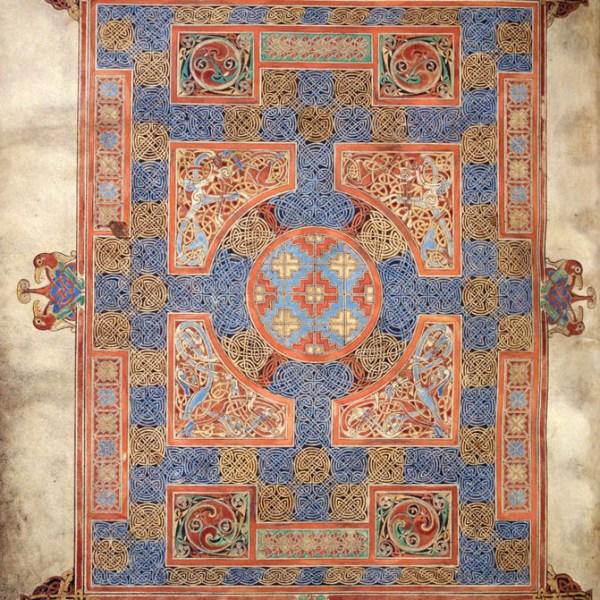 Lindisfarne Folio 94v - Saint Marc