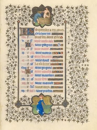 Belles heures du Duc de Berry - Folio10r
