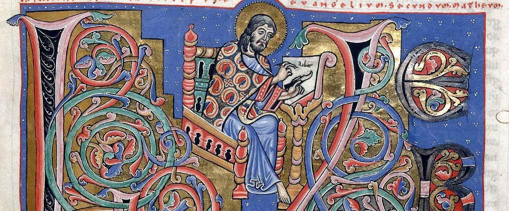 Bible d'Arnstein - Saint Matthieu