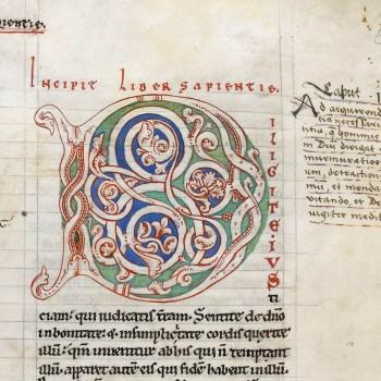Bible d'Arnstein - Folio 69r - Initiale D