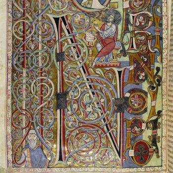 Bible d'Arnstein - Folio 185v (zoom) - Saint Jean - In principio