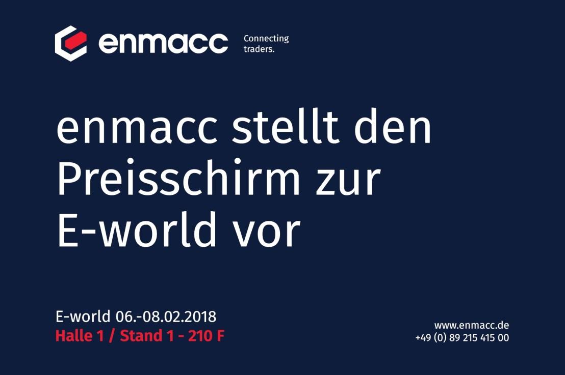 enmacc auf der E-world – besuchen Sie uns!