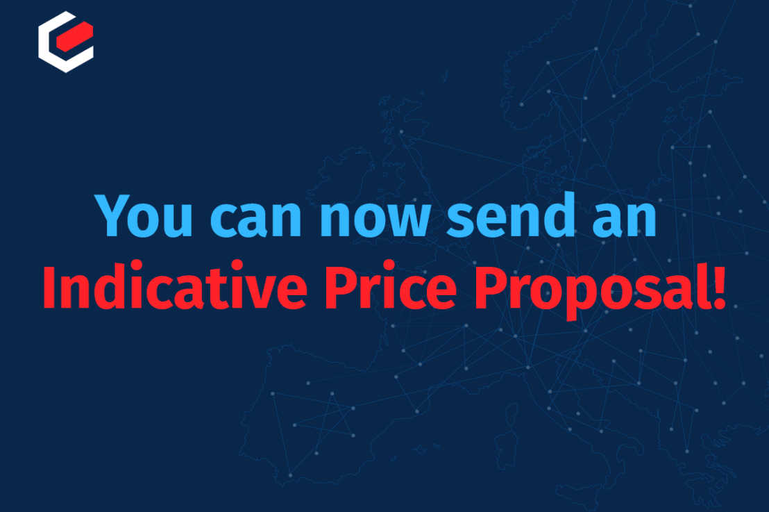 Our new feature for an indicative price proposal