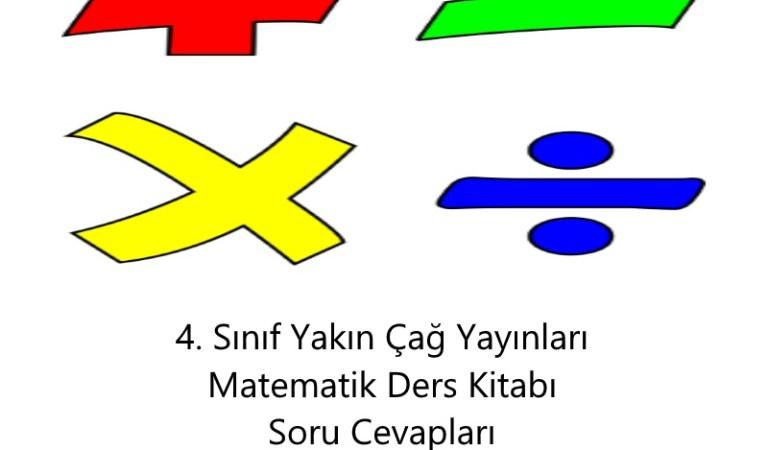 4. Sınıf Yakın Çağ Yayınları Matematik Ders Kitabı Soru Cevapları Sayfa 28,30