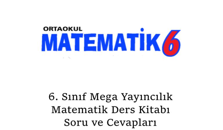 6. Sınıf Mega Yayıncılık Matematik Ders Kitabı Soru Ve Cevapları Sayfa 75
