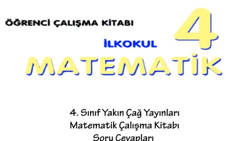 4. Sınıf Yakın Çağ Yayınları Matematik Çalışma Kitabı Soru Cevapları Sayfa 55