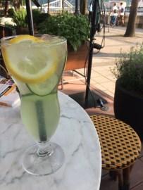 Limonade aux concombres