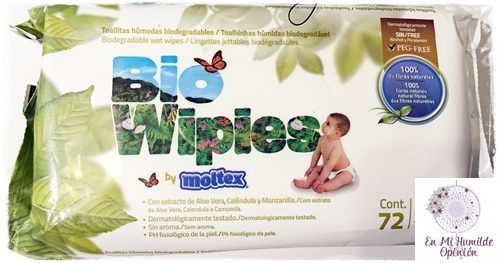 Toallitas BioWipies by Moltex