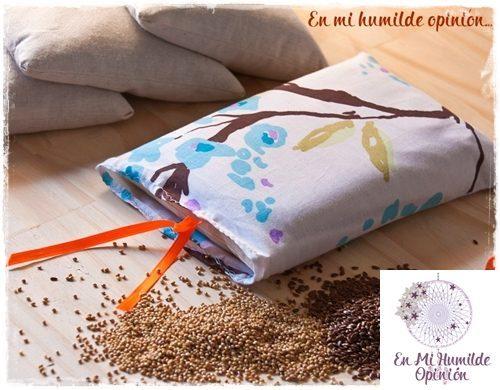 Dolores de la menstruación, cómo aliviarlos de forma natural, sacos de semillas