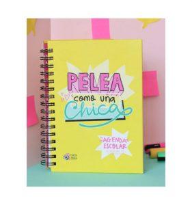 Agenda escolar 2016-2017 Pelea como una chica Pedrita Parker