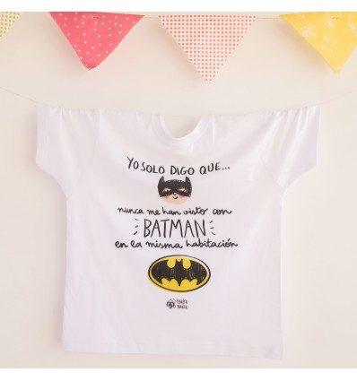Camiseta infantil Batman Pedrita Parker