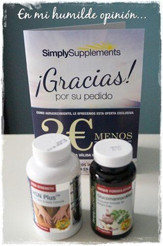 Simply Supplements, complementos nutricionales.