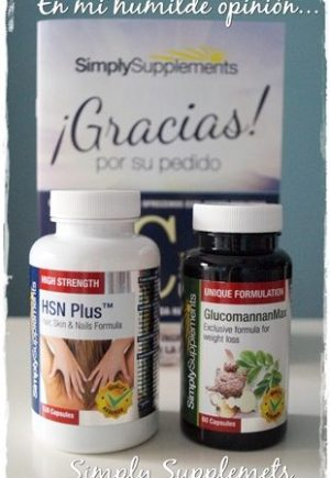 Simply Supplements, complementos nutricionales.