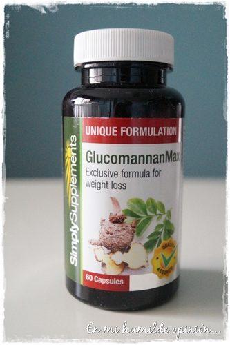 Glucomannan Max, Complemento nutricional para perder peso de Simply Supplements