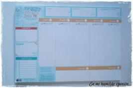Planificador - Una semana entera para llegar donde tu quieras