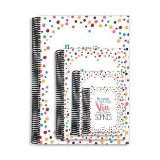 Cuaderno No somiis la teva vida viu els teus somnis Qué Way