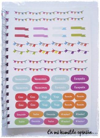 Pegatinas / Stickers Agenda Qué Way