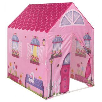 Tienda de juegos con forma de casa