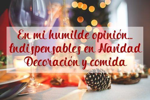 Indispensables en esta temporada de Navidad