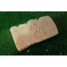 Jabón artesano de albahaca ideal para heridas y eccemas