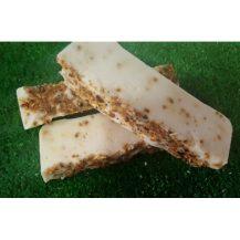 Jabón artesano de naranja ideal para pieles grasas, funguicida, bactericida y antiinflamatorio