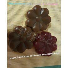 Jabón artesano miel, aceite de oliva y rosa mosqueta