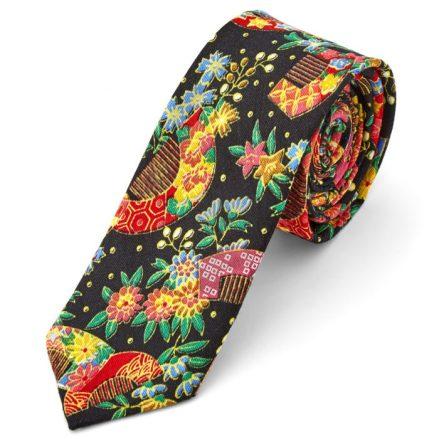 Corbata psicodélica colorida