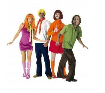 Disfraces de la banda de Scooby-Doo