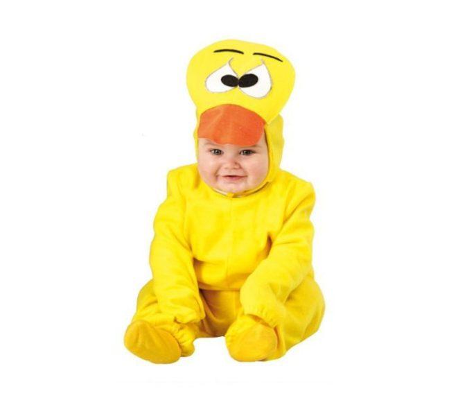 Disfraz de Patito Amarillo para Bebés