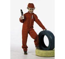 Disfraz de Piloto Formula 1 Deluxe para niño