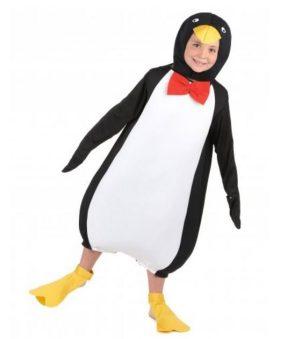 Disfraz de pingüino para niño o niña