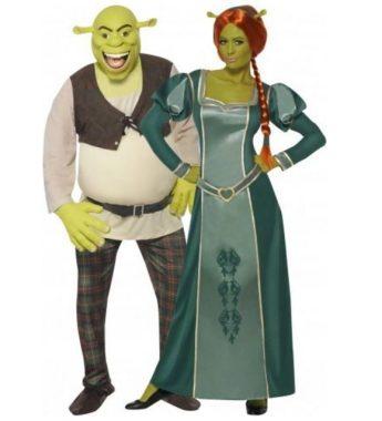 Disfraz pareja Shrek y Fiona™