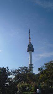 vue de namsan tower