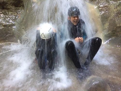 Rio sourd petite cascade