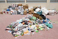 Photo of شرطة دبي تضبط ٣,٥ طن بضائع مُخزنة في سكن عمالي قبل بيعها في أسواق عشوائية
