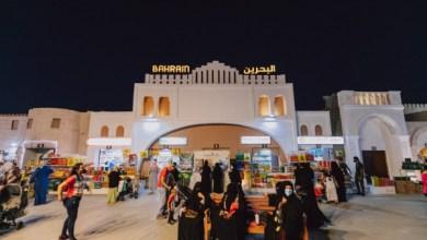 """صورة وكالة أنباء الإمارات – جناحا السعودية والبحرين في """"مهرجان الشيخ زايد"""" ..تجسيد للموروث الثقافي ومشاهد حية من البلدين"""
