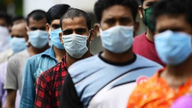 """صورة وكالة أنباء الإمارات – الهند تسجل أكثر من 14 ألف إصابة جديدة بـ """"كورونا"""""""